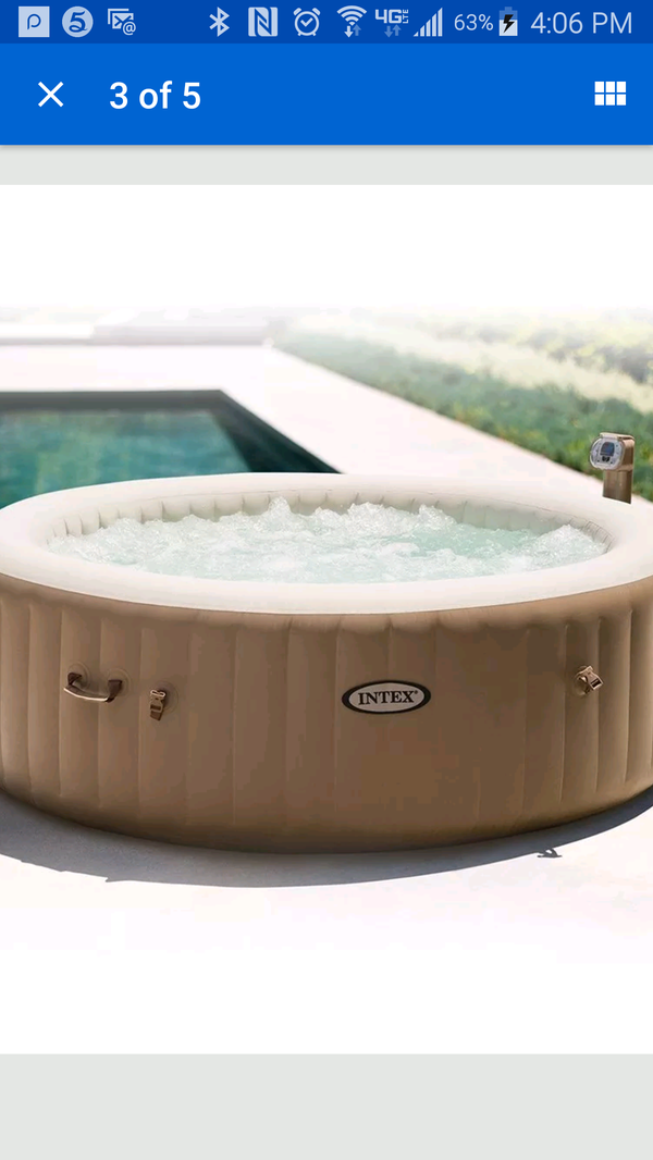Intek pool ( inflatable) ! $250 OBO !