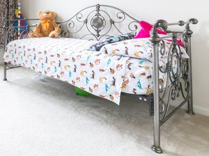 Twin Bed Frame and Mattress for Sale in Leesburg, VA