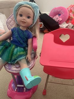 American Girl Doll Wellie Wisher With Accessories for Sale in Foster City,  CA