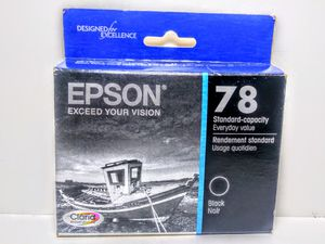 Epson 78 Black Ink Cartridge for Sale in Garland, TX