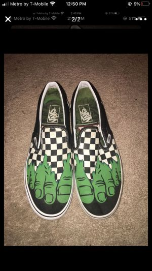 Hulk slip on vans for Sale in Tampa, FL