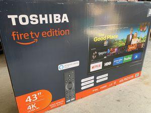"Toshiba smart tv 43"" 4k for Sale in McKinney, TX"