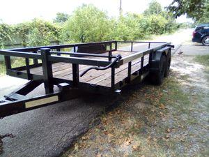 18' Heavy duty trailer ,car hauler ,traila for Sale in Spring, TX
