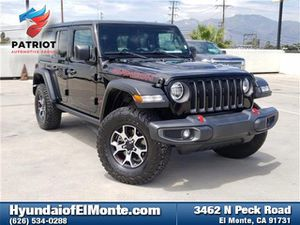 Pre-Owned 2019 Jeep Wrangler Unlimited Rubicon 4X4 Sport Utility for Sale in El Monte, CA
