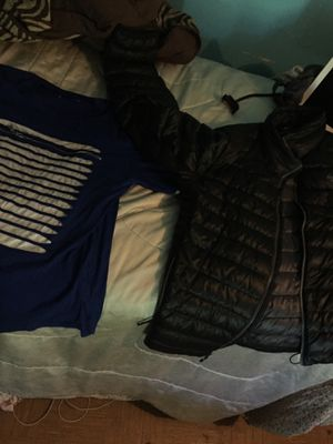 2-Pack deal (Switch remarkable blue shirt & North Face bubble Coat) for Sale in Waldorf, MD