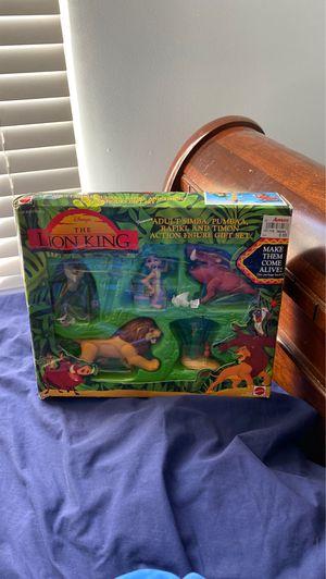 Lion King 1990s figure set for Sale in Fayetteville, GA