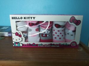 Hello kitty infant booties for Sale in Nashville, TN
