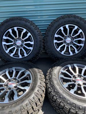"18"" GMC Sierra AT4 Factory Wheels for Sale in Fontana, CA"