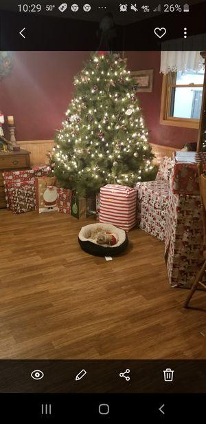 Large 8 ft Christmas tree for Sale in Edna, KS