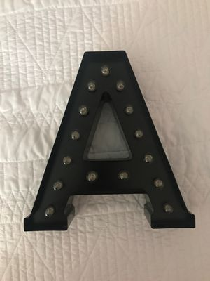 Metal Letter A for Sale in Chicago, IL