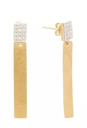 I. Reiss Jewelry - Earrings: 14K Yellow Gold 0.14ct Diamond New / Never used for Sale in Fort Lauderdale, FL