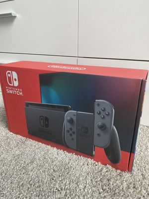 Nintendo Switch with Grey Joycons for Sale in Bellaire, TX
