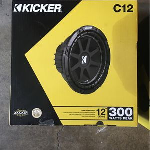"""12"""" Kicker Subs for Sale in San Jose, CA"""