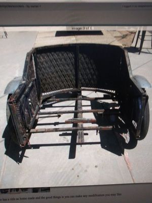 Homemade motorcycle trailer w title for Sale in Las Vegas, NV