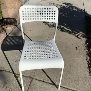 Ikea chair-white-San Fernando valley's-northridge for Sale in Los Angeles, CA