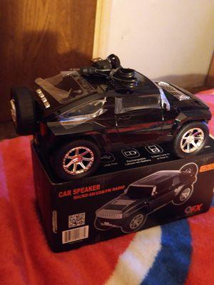 Black Hummer blue tooth car speaker. for Sale in Visalia, CA