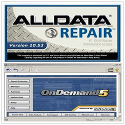 Alldata 10.53 + Mitchell On Demand 2015 On Hard Drive Disk 1 Tb for Sale in Orlando,  FL