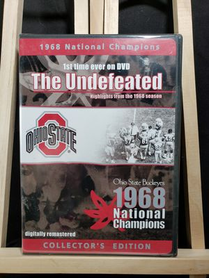 New sealed Ohio State The Undefeated 1968 national championship Dvd for Sale in Zanesville, OH