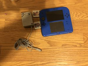 Gameboy 2d with games for Sale in Vancouver, WA