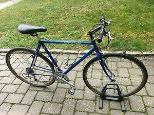 Trek 790 Multitrack USA mens hybrid mountain bike mans blue road trail bicycle for Sale in Philadelphia, PA