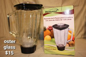 Brentwood oster Glass blender kit for Sale in Moreno Valley, CA