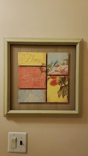 Home sweet home decorative painting for Sale in Miami, FL