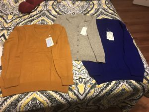 Three cashmere/wool blend sweaters for Sale in Arlington, VA