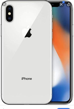 UNLOCKED IPhone X Silver 64gb for Sale in San Diego, CA