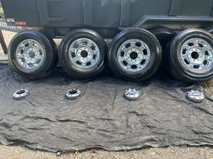 Ford F250 Super duty rims and tires for Sale in Tampa, FL