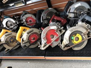 Variety of Skill Saws For Sale Prices from $50 to $120 for Sale in Revere, MA