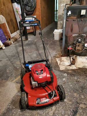 Toro lawn mower and bag for Sale in White Plains, NY