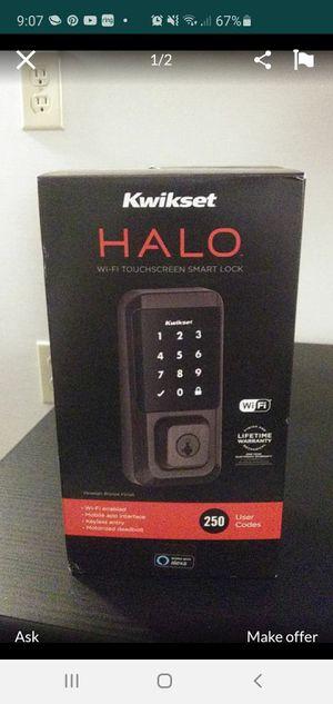 Brand new Halo kwikset wifi lock for Sale in Lewisville, TX
