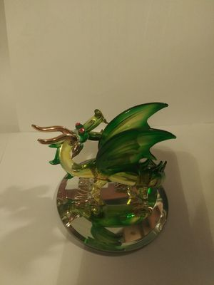 Glass Dragon sculpture. for Sale in Middleburg, FL