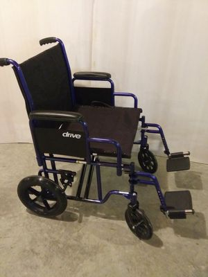 New extra wide Drive transport chair. for Sale in Walton, KY