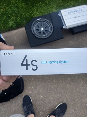 LED H11 headlight bulbs for 13 ram truck for Sale in Portland, OR