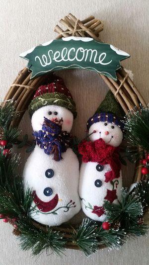 2 piece Christmas door decor. for Sale in Alexandria, VA