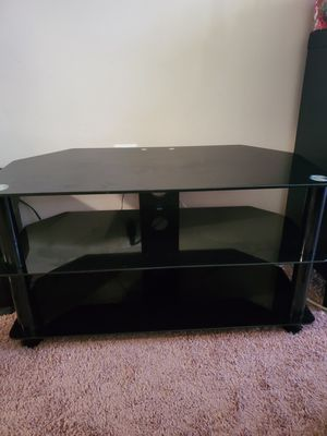 Black TV stand for Sale in Brentwood, MD