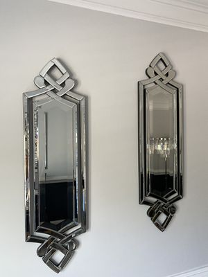 Matching wall mirrors for Sale in Mars, PA