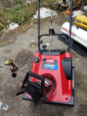 CCR36550 toro snowblower for Sale in Bolingbrook, IL