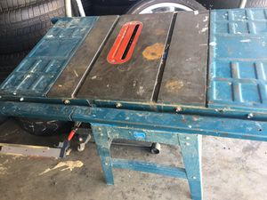 Saw table machine for Sale in Victorville, CA