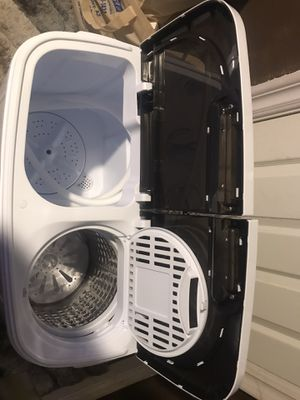 ZENY Mini Twin Tub Portable Compact Washing Machine Washer Spin Dry Cycle- 13lbs Capacity OPEN BOX for Sale in Montclair, CA