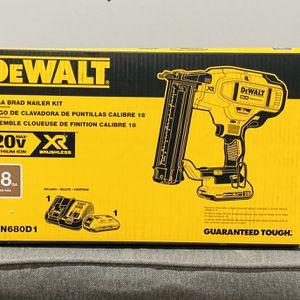 Dewalt 20v XR 18g Brad Nailer Kit for Sale in Philadelphia, PA