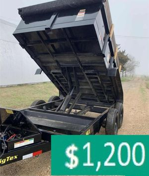 Price$12OO BIG-TEX 14LX 2017 hydraulic dump for Sale in New York, NY