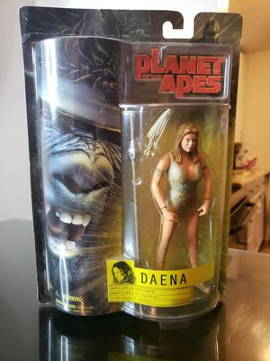 2001 Hasbro 20th Fox Planet Of The Apes Movie Daena Action Figure Collector Toy for Sale in Davie, FL