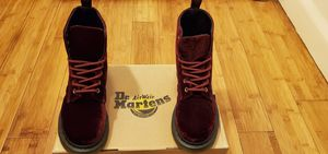 Dr Martens Velvet boots size 5 for women for Sale in Paramount, CA