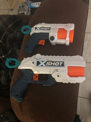 ZURU XSHOT GUNS (Off Nerf Brand) for Sale in Davenport, FL