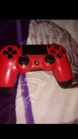 PS4 controller (RED) for Sale in Santa Ana, CA