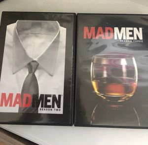 DVD-MAD MEN-season 2-3 complete for Sale in Tamarac, FL