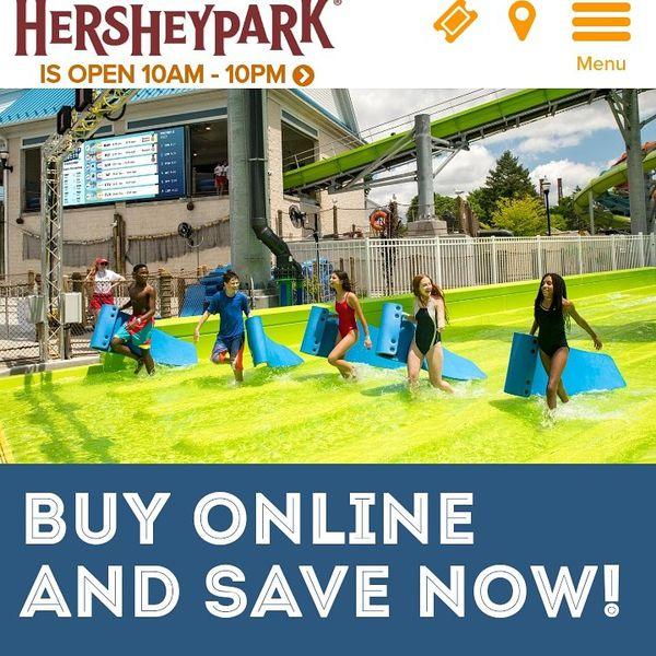 Hershey Park Tickets
