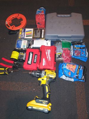 Drill bit miscellaneous tools electrical tools for Sale in San Jose, CA